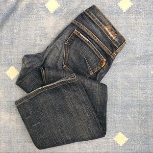 "James Bootcut denim jeans size 31"" waist"